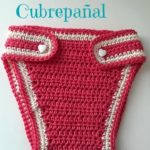 Cubrepañal Bebé Crochet en oferta